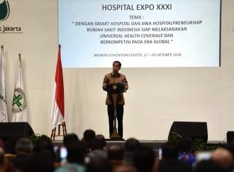 Presiden Dorong Rumah Sakit Terintegrasi