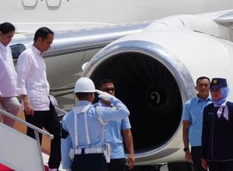 Jokowi Periksa Bantuan Dana Perumahan Korban Gempa NTB
