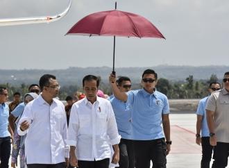Presiden Serahkan Bantuan ke 5.000 KK di NTB