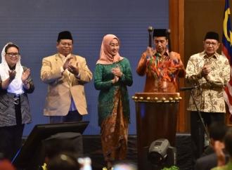 Presiden Buka Forum Muslimah Muda Internasional