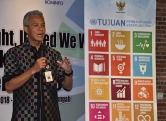 Gubernur Ganjar Ajak Milenial Gelorakan SDGs