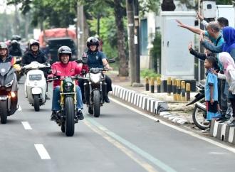 Jokowi Blusukan ke Pasar Anyar Tangerang