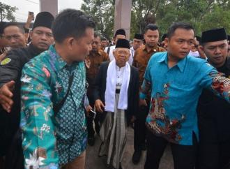 Kiai Ma'ruf: Presiden Jokowi Tak Pernah Lakukan Pencitraan