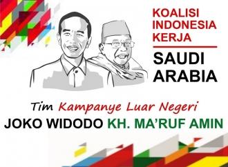 Calon Ketua Tim Kampanye Jokowi-Ma'ruf di Saudi Ditentukan