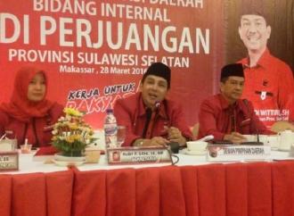PDI Perjuangan Sulsel Ingin Megawati Tetap Ketua Umum