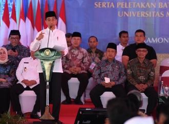 Presiden Jokowi Hadiri Milad STIKES Muhammadiyah