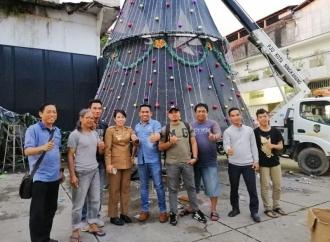 Tjhai Apresiasi Pemuda Singkawang Siapkan Perayaan Natal