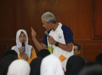 Ganjar Ingatkan Mahasiswa Hindari Debat Tak Bermutu