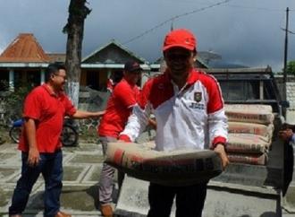 Anggota DPRD Boyolali Beri Bantuan ke Korban Bencana