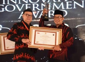 Bandung Dianugerahi sebagai Kota Terinovatif Nasional