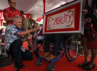Ganjar: Penyandang Disabilitas Miliki Potensi Besar