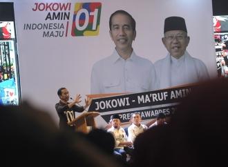Jokowi Yakin Kader Parpol dan Relawan di Jambi Militan