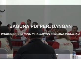 Workshop Peta Rawan Bencana BAGUNA PDI Perjuangan
