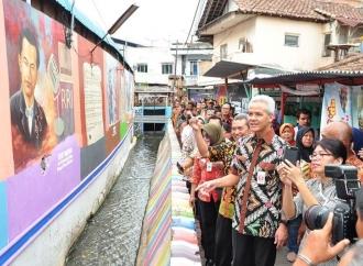 Puji Perubahan Kampung Pancuran, Ini Kata Gubernur Ganjar