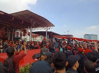 Flashmob Kader Banteng Sehatkan Jiwa