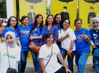 Ksatria Airlangga Ikut di Deklarasi UI Dukung Jokowi-Ma'ruf