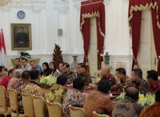 Presiden Jokowi Terima Kunjungan Pengusaha Beras
