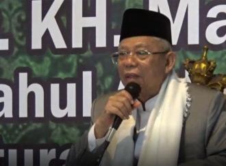 Kiai Ma'ruf Optimistis Menang di Jawa Timur