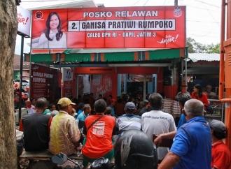Ganisa Buka Posko di Banyuwangi untuk Menangkan Jokowi