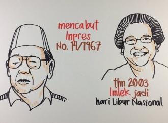 Andil Gus Dur dan Megawati Jadikan Imlek Hari Libur Nasional
