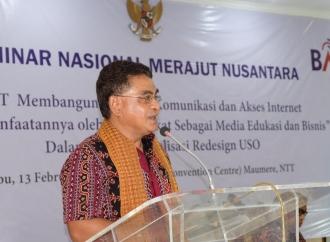 Andreas Sukses Bangun Akses Telekomunikasi di Sikka