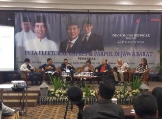 Survei: Elektabilitas Jokowi Ungguli Prabowo di Jawa Barat