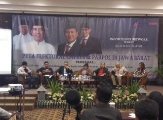 Survei: Pendukung PDI Perjuangan Paling Solid Dukung Jokowi