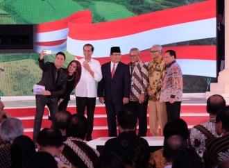 Keseruan Debat Capres Kedua di Hotel Sultan Jakarta