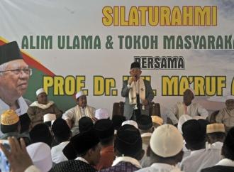 KH Ma'ruf Ungkap Ulama Banten Alihkan Dukungan ke Jokowi
