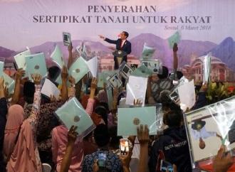 Politik Pertanahan Jokowi Berpihak pada Perlindungan Rakyat
