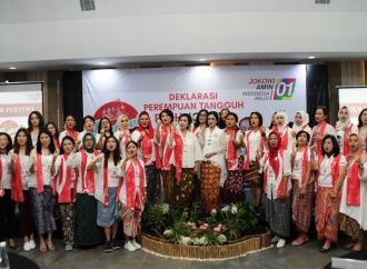 Perempuan Tangguh Semarang Targetkan 80 % Suara untuk Jokowi