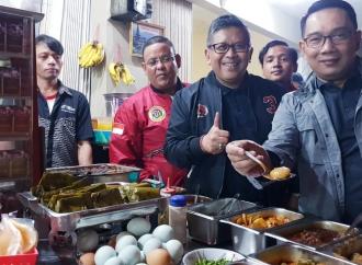 Di Hadapan Hasto, RK Komit Menangkan Jokowi-KH Ma'ruf