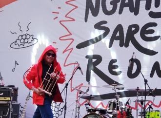 Ngahiji Bareng Red Me, Hasto Bergaya Milenial