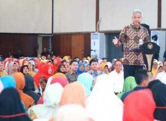 Bansos Jateng Capai Rp2 T, Ganjar: Terima Kasih Jokowi