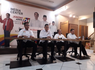 TKN Jokowi-Kiai Maruf Laporkan Dana Kampanye