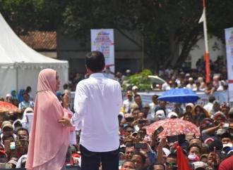 Presiden Jokowi Membakar Semangat Warga Lampung