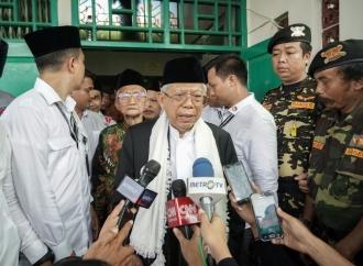 KH Ma'ruf Miliki Jejak Politik yang Lengkap