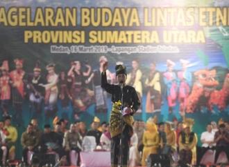 Jokowi Sebut Sumut Miniaturnya Indonesia