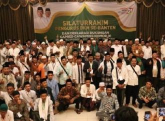 Dewan Kemakmuran Masjid Banten Deklarasi Dukung Jokowi-Amin
