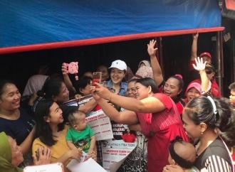 Tina Semakin Mantapkan Langkah Menuju Kursi Wakil Rakyat