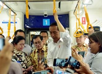 Jokowi Harap Kota-kota Besar Kembangkan Transportasi Massal