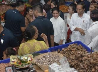 Presiden Puji Arsitektur Pasar Rakyat Badung