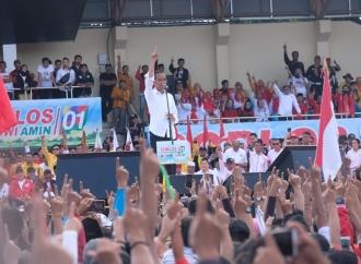 Jokowi Ajak Masyarakat Banten Pilih Baju Putih