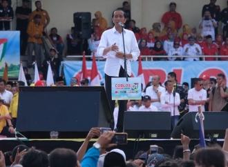 Jokowi Prediksikan Menang 58 Persen di Pilpres 2019