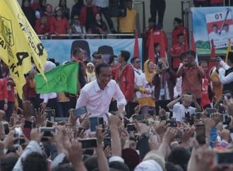 Survei Vox Populi: Jokowi Masih Unggul 20 % dari Prabowo
