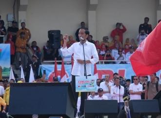 Jokowi Janji Hadirkan Kampanye Gembira