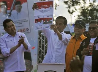 Jokowi Hadiri Kampanye Terbuka di Jember
