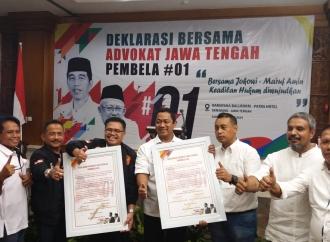 Advokat Jateng Deklarasi Dukungan untuk Jokowi-Ma'ruf