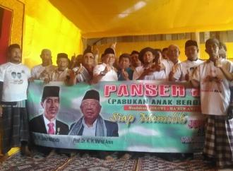 Santri dan Anak Tentara di Aceh Barat Dukung Jokowi