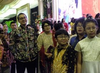 Hadiahkan 'Pancasila Rumah Kita', Opung Sabam Pancasilais